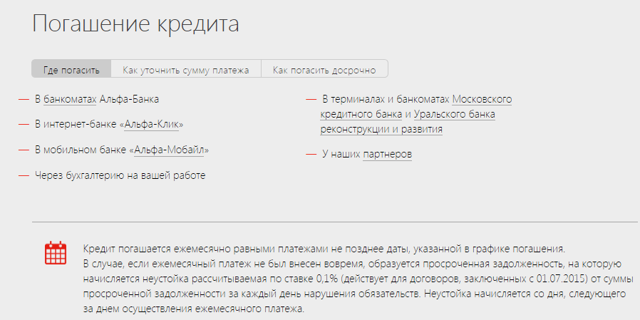 Быстрый кредит Альфа банк, экспресс кредитование