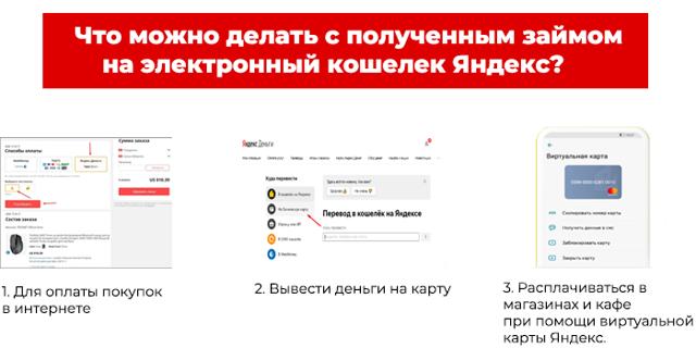 Займ на Яндекс кошелек мгновенно: кредит на Яндекс Деньги быстро