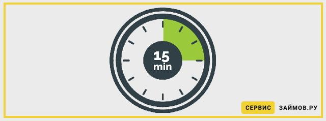 Займ за 15 минут онлайн: оформление и нюансы